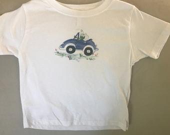 Bug in Car Tee Shirt