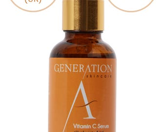 Vitamin C Serum For Face Anti Ageing with Hyaluronic Acid - For Micro Needle Derma Roller