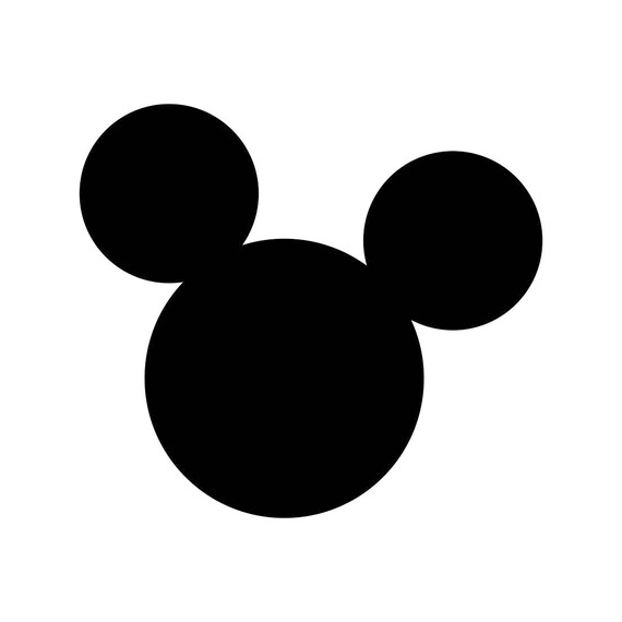 mickey mouse ears disney svg cricut silhouette dxf eps png cdr rh etsy com