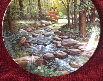 Bart Jerner 1988 THE MURMURING STREAM Less Travelled Road Plate