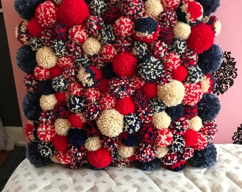 Pompon pillow