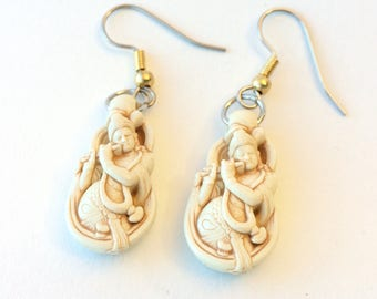 Krishna Flute graceful earrings