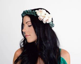 Eucalyptus Crown | Flower Crown | Bridal Hair Accessory | Hair Wreath | Photo Prop