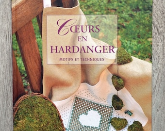 Book hearts Hardanger - patterns and techniques