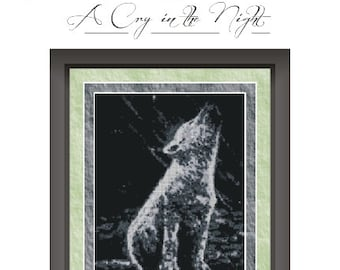 A Cry in the Night.   Counted Cross Stitch Pattern