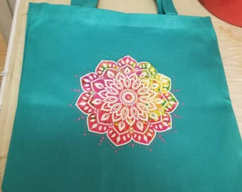 Colorful tote