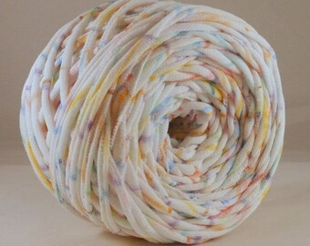 T shirt Yarn, T-Shirt Yarn, 60 Yards, Multicolored Tshirt Yarn, Graffiti