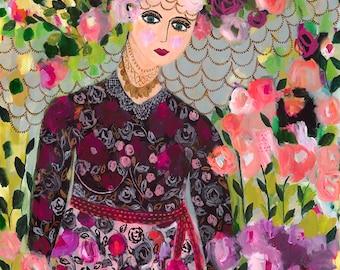 Garden Goddess 72x48