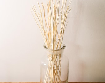 12g Natural Colour Wooden Branch Replacement Diffuser Reed Refill Sticks Twigs 24cm Natural Wood
