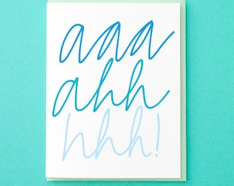 Engagement Card. Congratulations Card. Pregnancy. Wedding Card. Expecting Congrats. Congrats Card. New Baby Congrats. Funny Greeting Card.