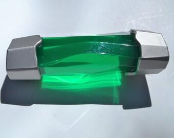 Power Energem Crystal Green Ranger Dino Prop Cos Play Charge Dino Gem