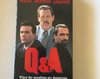 Q & A  (VHS, 1990) Nick Nolte