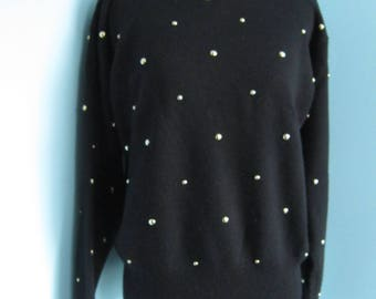 Womens Black Not So Ugly Christmas Sweater
