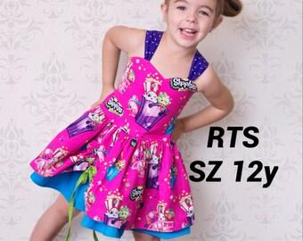 RTS* Girls Shopkins Poppy Dress