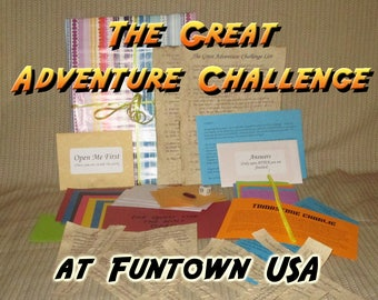 Scavenger Hunt Adventure - Funtown USA, Saco ME - The Great Adventure Challenge