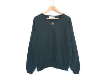 Sonia Rykiel Paris Spellout Embroidery Pullover Jumper Sweatshirt