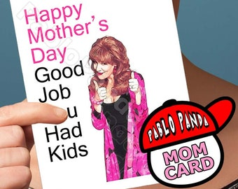 mothers day card - card for mama -  funny mothers day - gift for mom - mom card - mom gift - mommy -  mothers day gift - unique mothers day