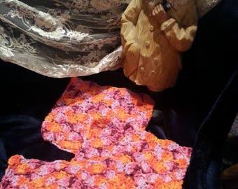 Dishcloth, set of three, crochet