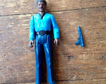 1980 Lando Calrissian (no teeth variant), Star Wars: Empire Strikes Back action figure. Loose.  Kenner