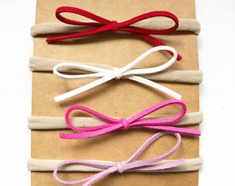 4 Petite Bows for Babies or Girls