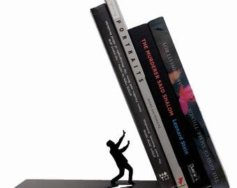 Bookend - Designed Bookend-laser cut bookend -Book Accessories -  Bookends