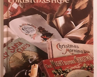 Once Upon A Christmastime Cross Stitch Book, Leisure Arts 1996, Hardcover, Victorian designs,