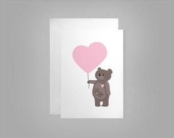 Lovebear - Greeting Card