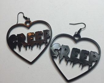 Creep earrings