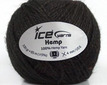 ICE Yarns - 100% Hemp Yarn - Beige