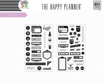MAMBI Clear Budget Planner Stamps Set By Create 365 Happy Planner