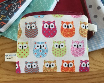 Small pouch Keychain card holder wallet