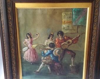 L-O Lesieur oil painting