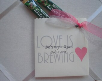 Cutest Envelopes for Wedding/Shower  Favor Love is Brewing