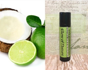 Coconut Lime Lip Butter - 100% Natural, Non-Toxic and Made to Order