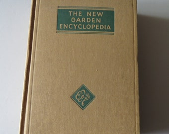 Vintage The New Garden Encyclopedia
