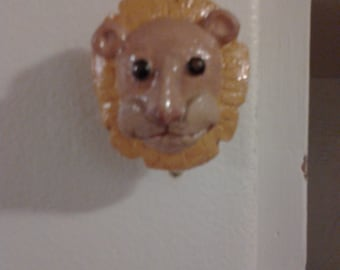 Lion Cabinet and Drawer Knob