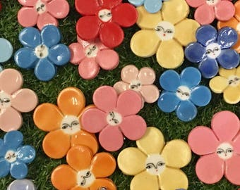 Flowers brooches - limited edition