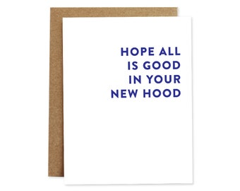 New Home Card, Moving Card, New Place Card, Housewarming Card, New Apartment Card, Moving House Card, Funny New Home Card