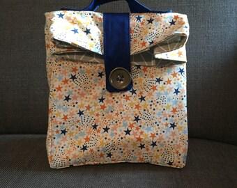 Bag has customizable snack