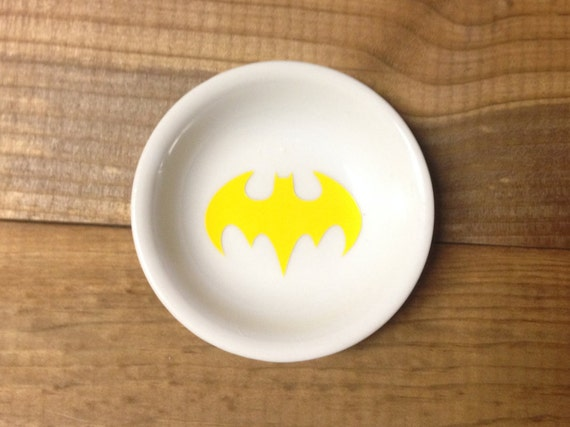 Ring Dish | Batman | Bat Symbol | Trinket Dish |Ring Holder | Engagement Gift