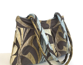 Velvet shoulder bag,women handbag,Multicolour bag,Day bag,Trending, Fabric purse,Casual handbag,Gift for her,Ready to ship, Handmade purse