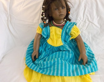 Ayoka Reflections of Youth Doll by Annette Himstedt