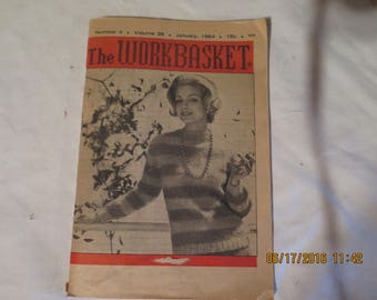 The Workbasket and Home Arts Magazine Number 4 January 1964 volume 29