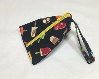 Popsicles Small Zippered Bag