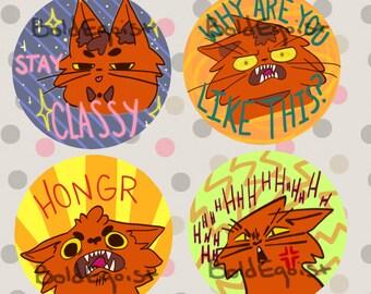 Meme Cat Buttons