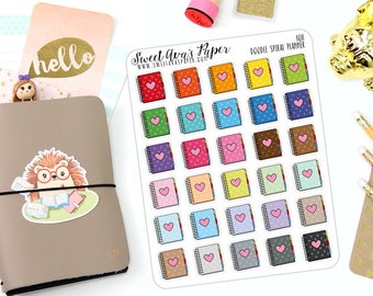 Doodle Planner Stickers - Notebook Planner Stickers - Doodle Planner Stickers - Doodle Icon Planner Stickers - 1011