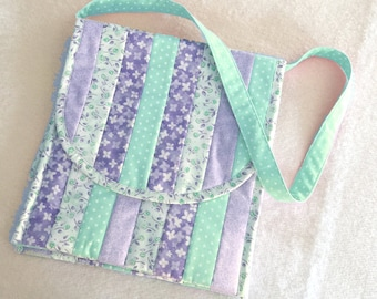 Quilted Purse Pattern - Two Sided Saddle Bag #558