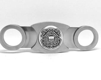 Coast Guard Cigar Cutter – Metallic