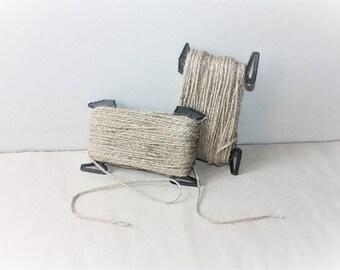 2.7 mm Jute Cord Natural = 1 Spool = 55 Yards = 45.72 Meters TWISTED CORD Jute Rope Natural Fiber Rope Jute Cord Rope Burlap String Cording