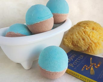 Hogwarts Inspired Bath Bomb - House of the Eagle - All Natural Bath Fizzer - Handmade Aromatherapy Bath Bomb - Harry Potter themed